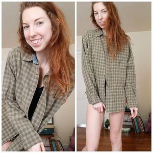 Woolrich Green Flannel